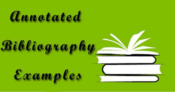 How to write an annotated bibliography for nursing
