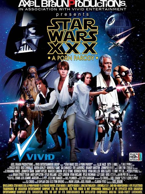 Star Wars XXX: A Porn Parody [2012] [DVD9] [2 DISC] [NTSC] [Resubido]