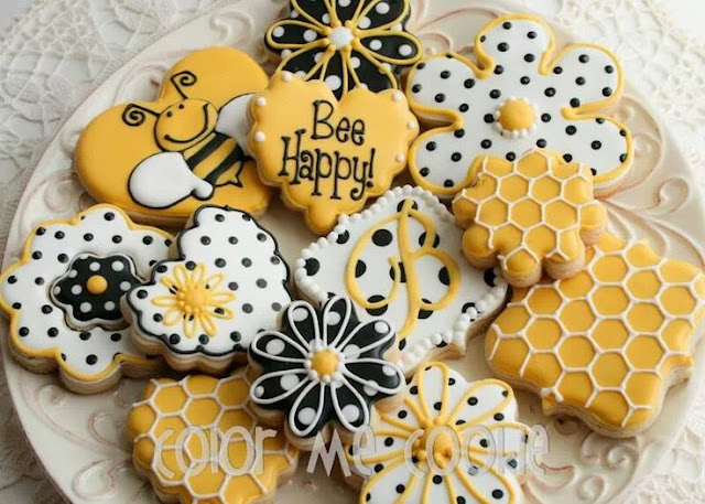 Honey Bee Flower Cookies Recipes