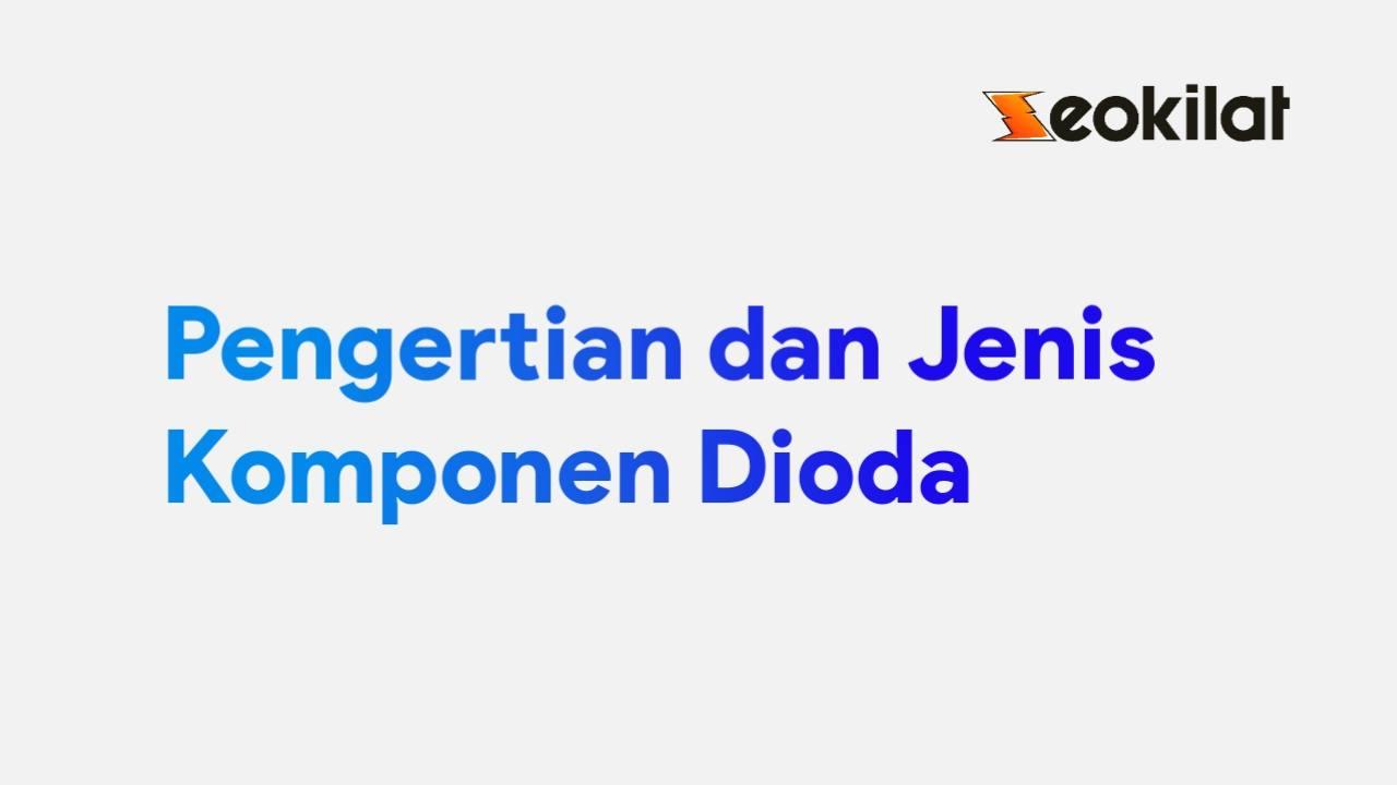 Komponen Dioda