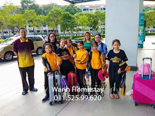 Warih-Homestay-Team-Karate-Sabah-Tiba-Di-Kondo-Univ360