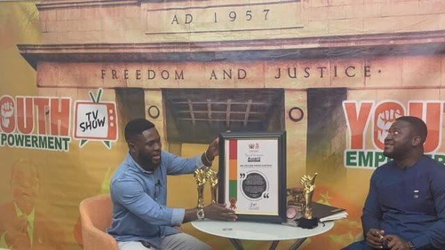 Richmond Amofa–Sarpong Wins A Top National Award