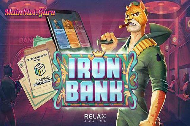 Main Gratis Slot Iron Bank Relax Gaming