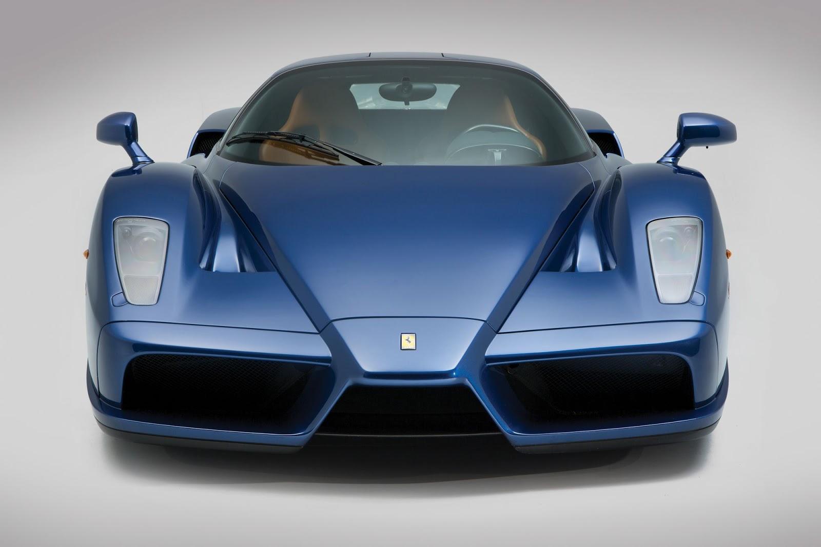 Blue Ferrari Enzo A 2 4 Million Bargain At Auction