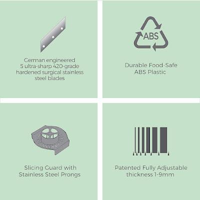 Vegetable slicer, cutter, shredder and more...