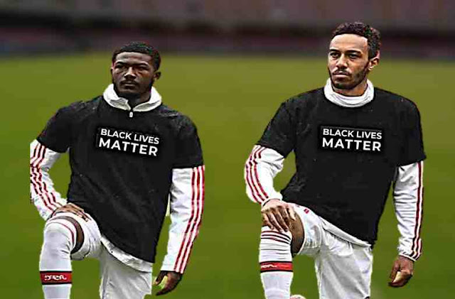 """Premier League stars to replace their names with """"Black lives matter"""" till the end of the season."""