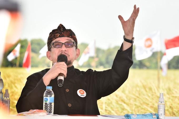 Doktor Salim di Mata Petani Milenial Karawang