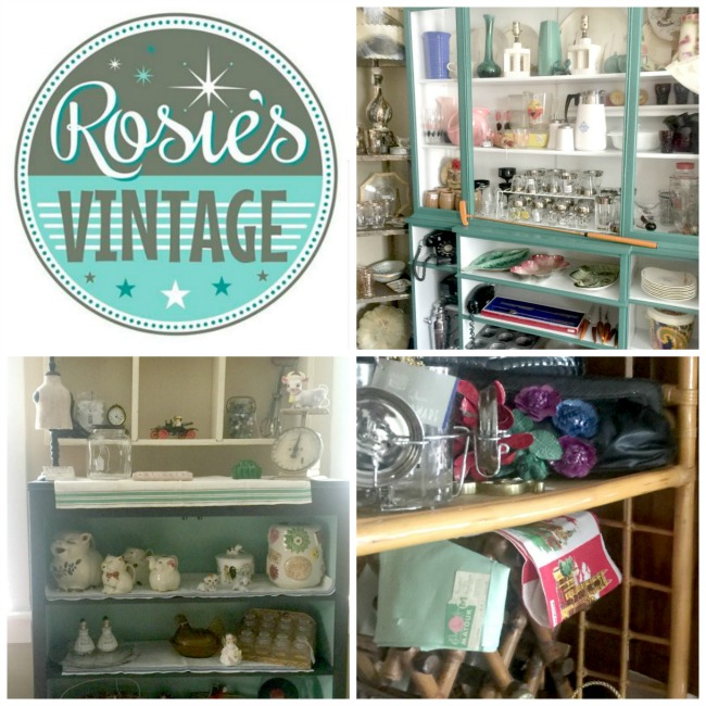 Grand opening of Rosie's Vintage Shop in Huntington, NY www.homeroad.net