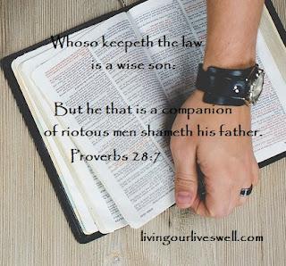 Proverbs 28:7