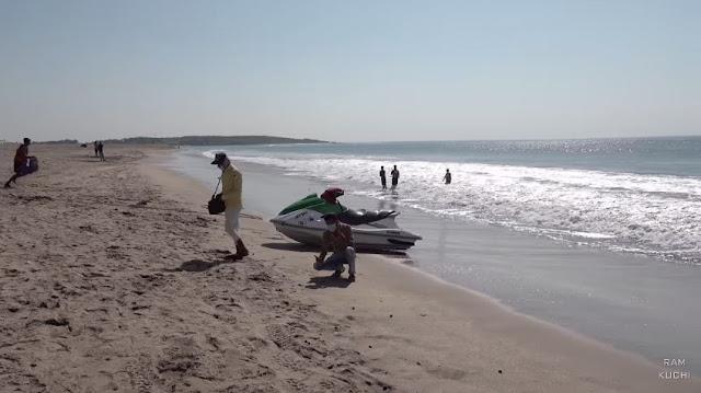 सोमनाथ समुद्र तट गुजरात - Somnath Beach Gujarat in Hindi