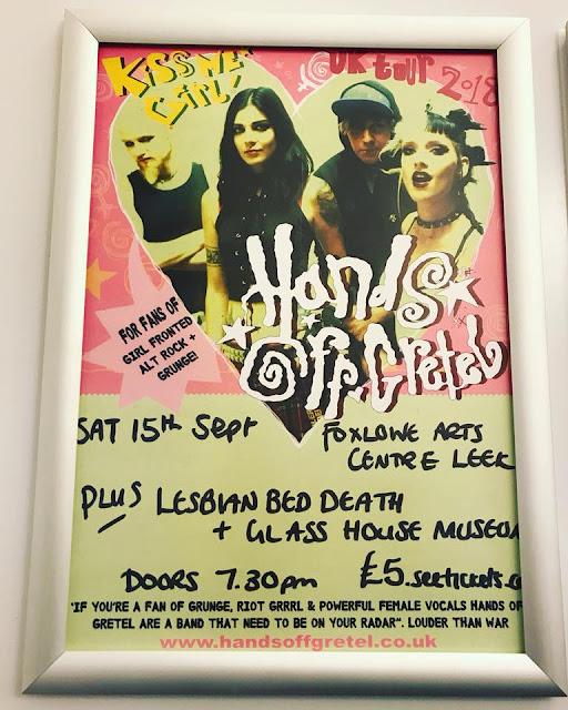 Hands Off Gretel + Lesbian Bed Death poster