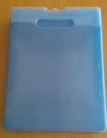 blue ice - ice pack - coolpack - plat es krim