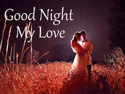 Good Night Wishing pics for Love Couples