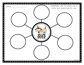 Crazy for First Grade: New Year Reflections, Freebies & a