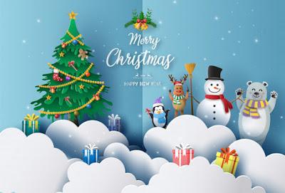 Merry Christmas WhatsApp Wishing Script Blogger 2020. How to Christmas Viral Wishing Script Blogger Free Download