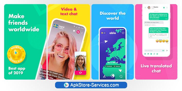 تطبيق Ablo أفضل تطبيق أندرويد للدردشة الفورية