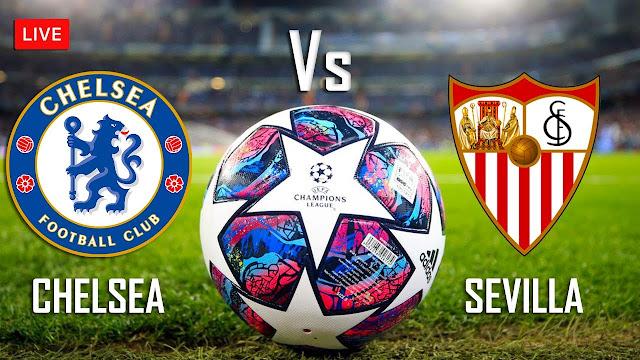 مباراة إشبيلية وتشيلسي دوري أبطال أوروبا بث مباشر