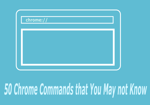 interesting google chrome commands