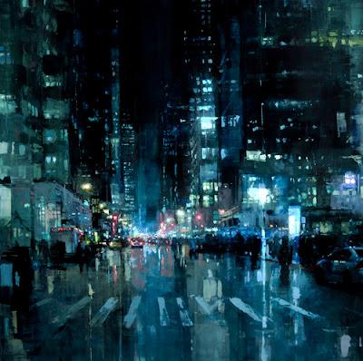 Jeremy Mann, Cityscapes