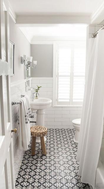 skandynawska łazienka