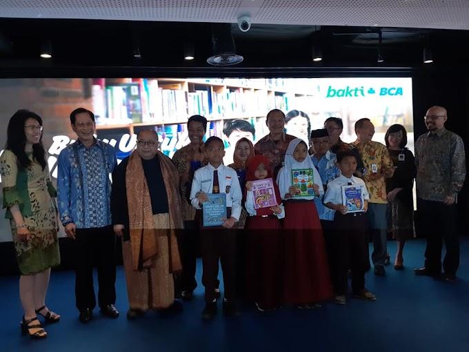 #BukuUntukIndonesia Bakti BCA untuk Indonesia