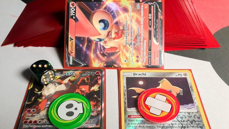 Condições Especiais Pokémon TCG