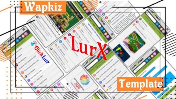 LurX Wapkiz Download site Premium Template