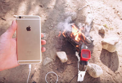 Advancement: How To Charge Your Phone With Fire
