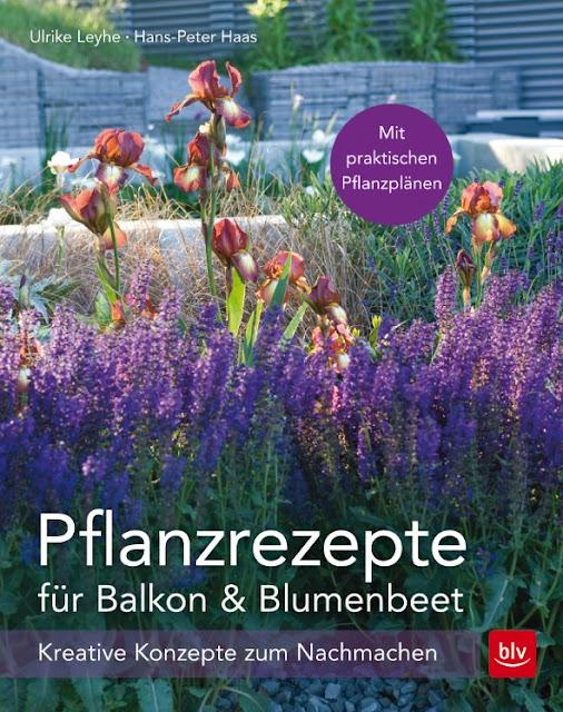 Gartenblog Topfgartenwelt Buchtipp Pflanzrezepte: für Balkon & Blumenbeet - kreative Konzepte zum Nachmachen, BLV-Verlag