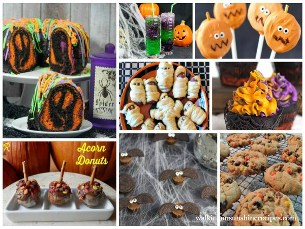 Halloween School Party Treats - Featured