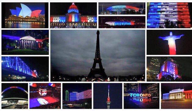 Cities that Support Pray For Paris 13 November 2015