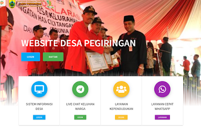 Jasa Buat Website Desa Pendekik