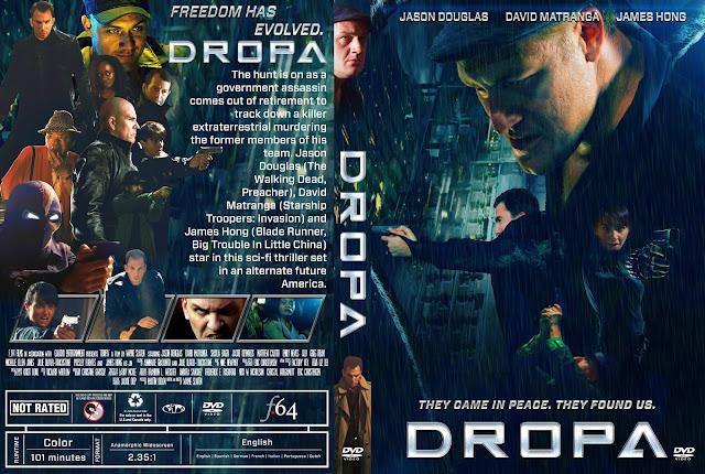Dropa DVD Cover