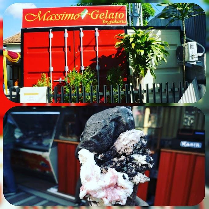 Massimo Gelato,  Es Krim Sehat dari Italia Siap Manjakan Lidah Warga Jogja