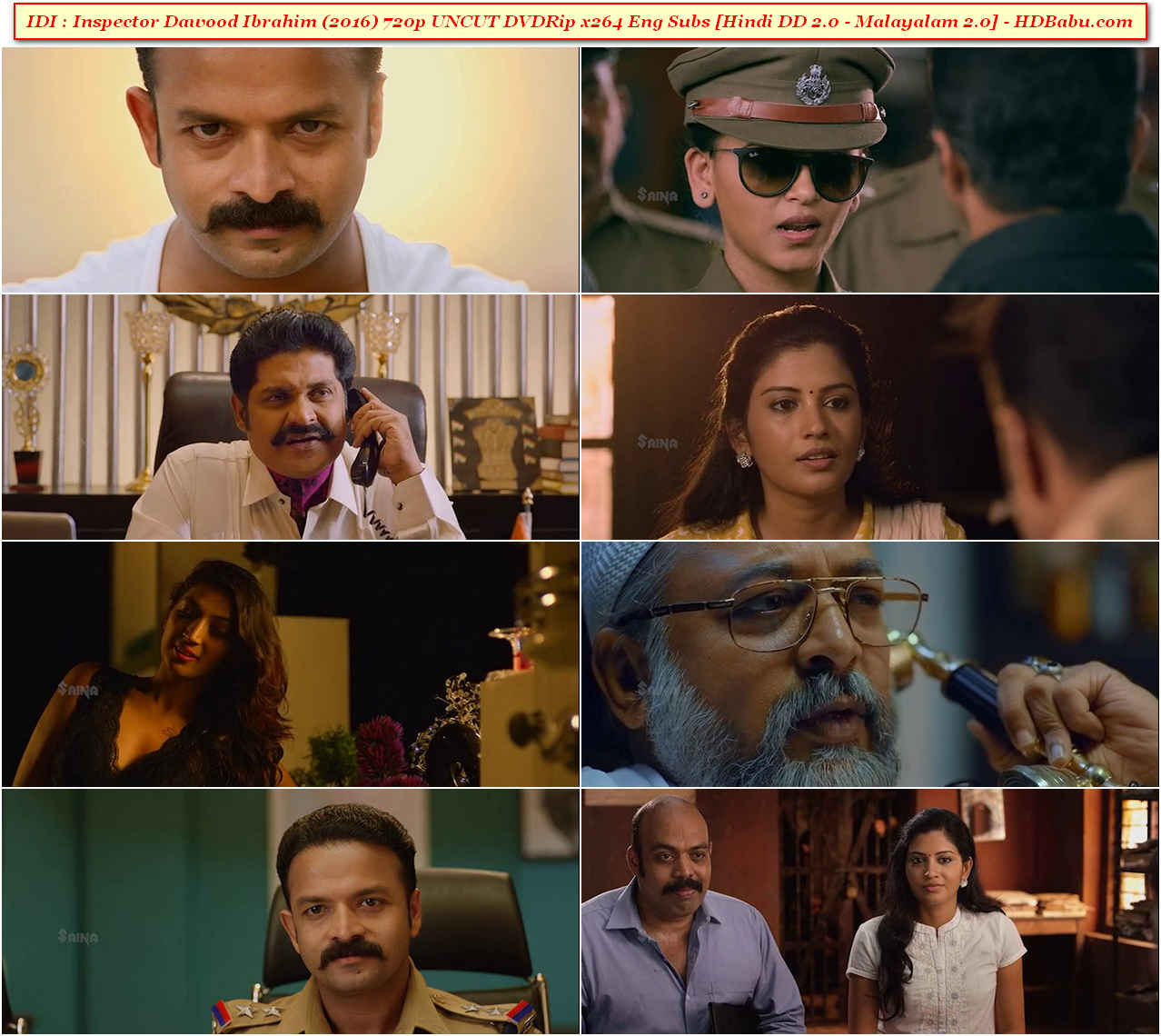 IDI : Inspector Dawood Ibrahim Hindi Dubbed Movie Download
