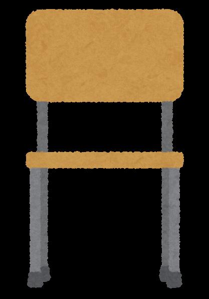 いろいろな角度から見た木の椅子のイラスト かわいいフリー素材集 いらすとや