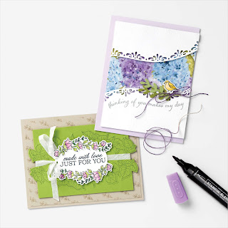 8 Stampin' Up! Quite Curvy Spring Cards  #stampinup