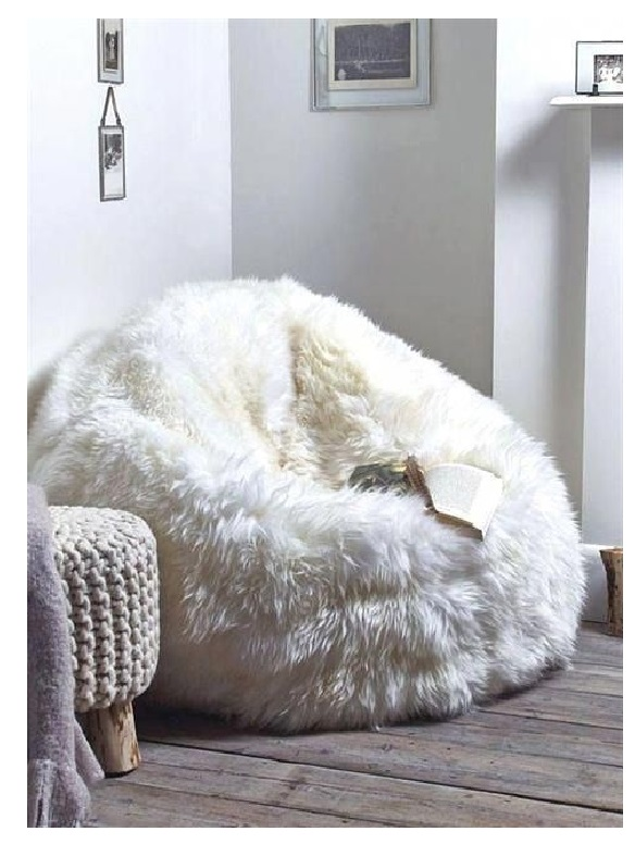 giant bean bag with zero grafity sheepskins cooper lounge chair for living room