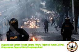 Dugaan Penyiksaan Usai Aksi 21 - 22 Mei Di Bawaslu, Amnesty Internasional Surati Jokowi