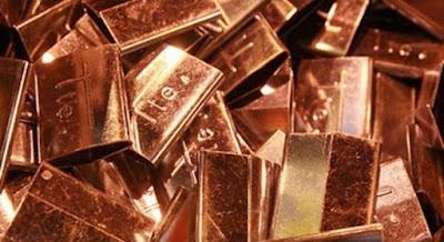 El cobre sigue al alza y se acerca cada día más a los cuatro dólares por libra
