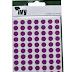 Purple Dots 8mm