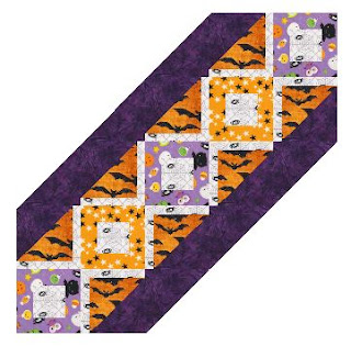 Harlow runner in Halloween prints