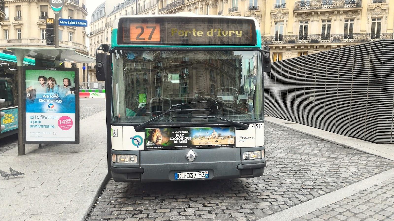 La ligne de bus ratp 27 quais de seine ivry re oit enfin ses ivecobus urbanway 18 hybride - Garage renault ivry sur seine ...