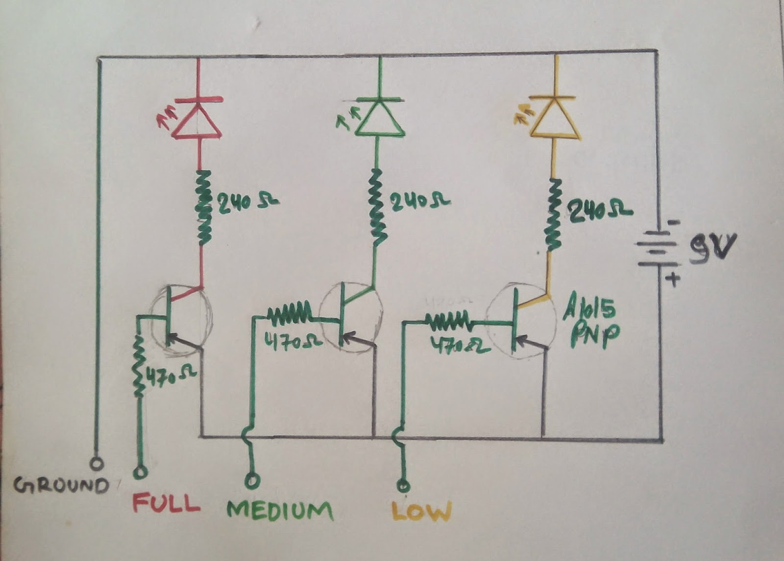 water level indicator project with circuit diagram how to wire a garage wattru official