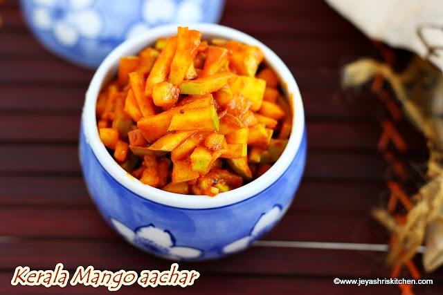 Kerala mango aachar