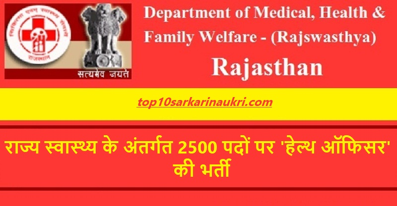 Rajswasthya Recruitment 2019