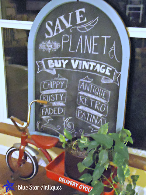 arched window frame into a chalkboard