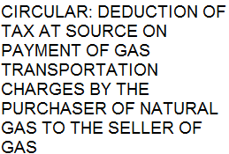 TDS on Payment of Gas Transportation Charges