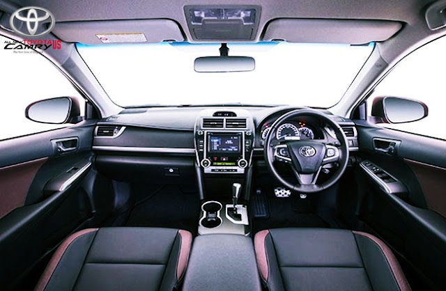 2016 Toyota Camry Atara R Interior