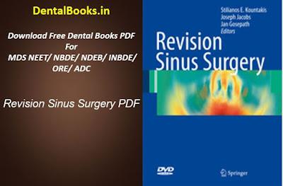 Revision Sinus Surgery PDF
